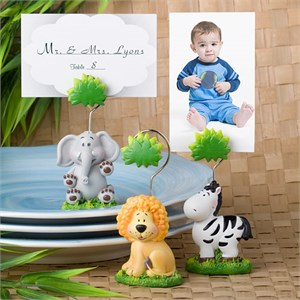 Jungle Critters Collection Place Card Holders