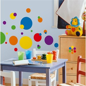 Just Dots Primary Peel And Stick Decal