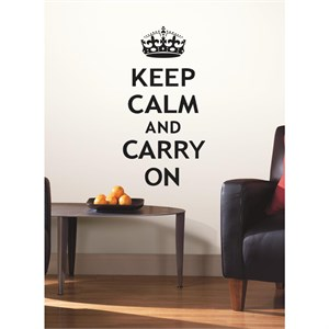 Keep Calm Peel And Stick Decal