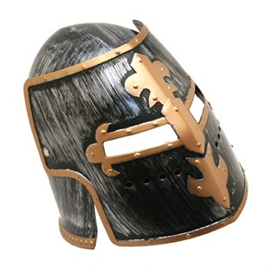 Knights Helmet And Mask