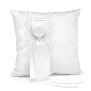 Lace Allure Ring Pillow