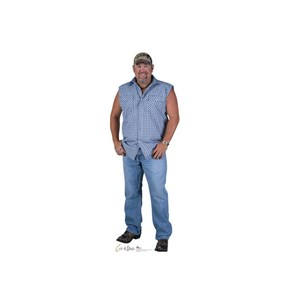 Larry The Cable Guy Cardboard Cutout