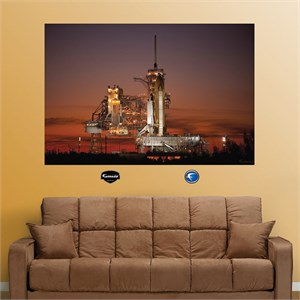 Launch Pad at Dusk REALBIG Wall Decal