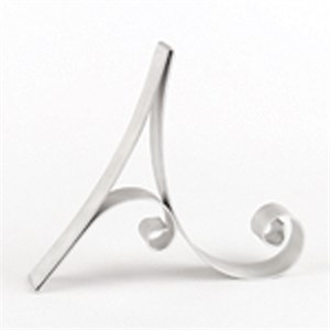 "Letter ""A"" Metal Letter Cake Top - 5"" Scroll"