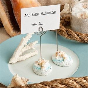 Life's A Beach Themed Place Card Holders