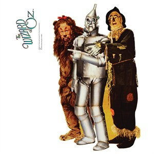 Lion Tinman And Scarecrow - Wizard Of Oz Wall Decor