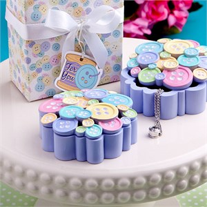 Little Buttons Collection Curio Box Favor