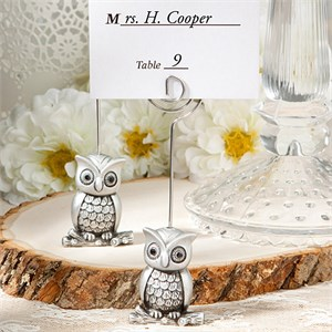 Little Owl Place Card Holder