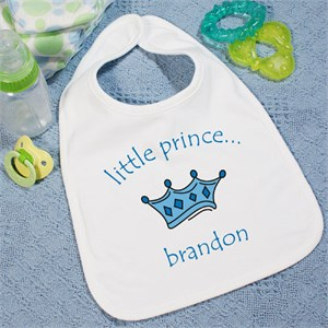 Little Prince Personalized Baby Bib