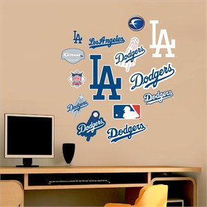 Los Angeles Dodgers-Team Logo Assortment