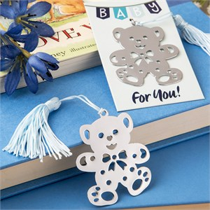 Lovable Teddy Bear Design Bookmark Favors from The Book Lovers Collection