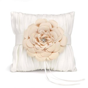 Love Blooms Ring Pillow