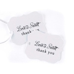 Love is Sweet Favor Cards