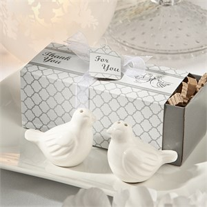 Lovebird Salt And Pepper Shakers