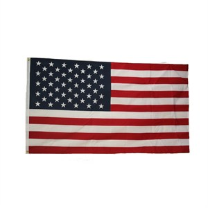 Made In The USA 3' X 5' American Flag