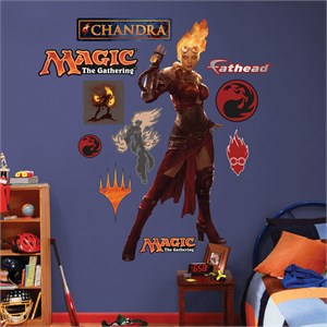 Magic the Gathering Chandra REALBIG Wall Decal