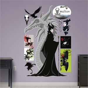 Maleficent REALBIG Wall Decal