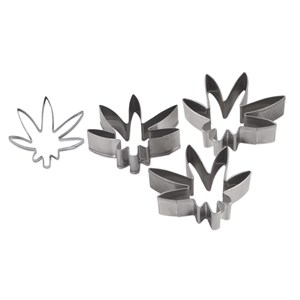 Marijuana Weed Shape Cookie Cutters
