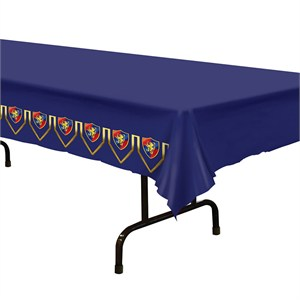 Medieval Plastic Table Cover - Rectangle