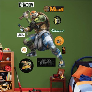 Michelangelo TMNT Movie REALBIG Wall Decal