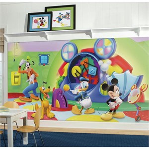 Mickey And Friends Clubhouse Capers Chair Rail