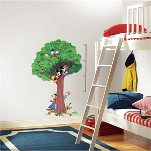 Mickey And Friends METRIC Growth Chart Decal