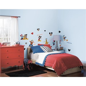 Mickey And Friends Peel And Stick Wall Decal