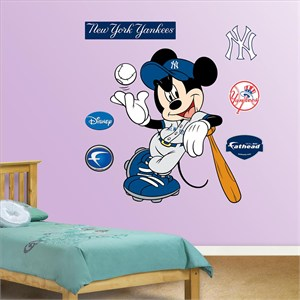 Mickey Mouse Yankees-Fathead