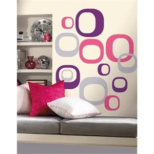 Modern Ovals Peel And Stick Decal