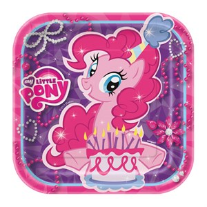 My Little Pony Paper Plates - 7""