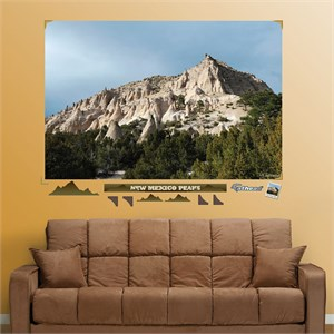 New Mexico Mountain Peaks Mural REALBIG Wall Decal