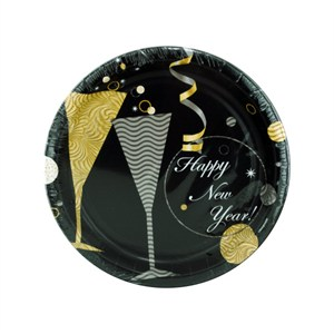 New Years Eve Cake Plates