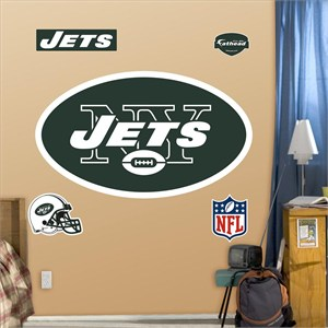 New York Jets Logo-Fathead