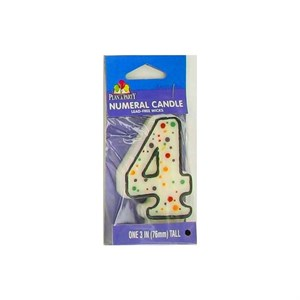 Numeric Candle #4