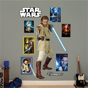 Obi-Wan Kenobi REALBIG Wall Decal