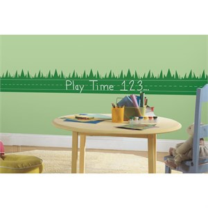 OneDecor Learning Lawn Chalk Peel And Stick Decal