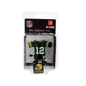 Packers Aaron Rodgers Wind-Up Toy