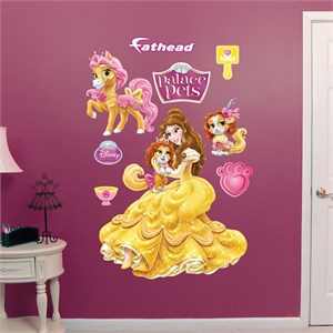 Palace Pets Belle Collection REALBIG Wall Decal