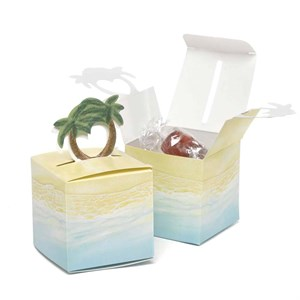 Palm Pop-Up Favor Boxes