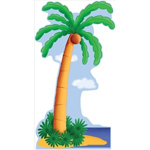 Palm Tree Lifesized Standup