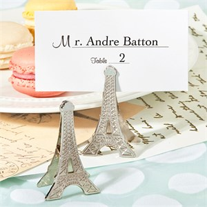 Perfectly Parisian Memo Place Card Clips