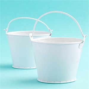 Perfectly Plain Collection Pail Favors