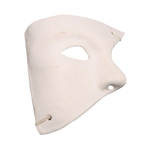 DIY Blank Paper Mache Phantom Mask