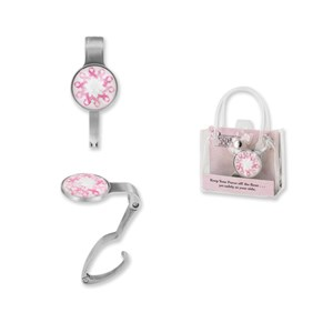 Pink Ribbon Purse Holder