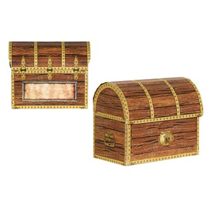Pirate Treasure Chest Favor Boxes