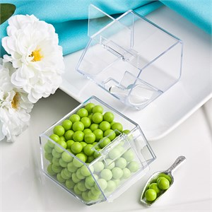 Plain Collection Candy Bin And Scoop Favor