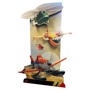 Planes Fire And Rescue 3D Cardboard Cutout