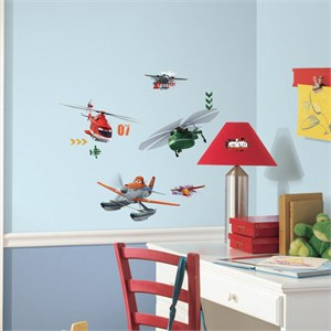 Planes Fire And Rescue Decal