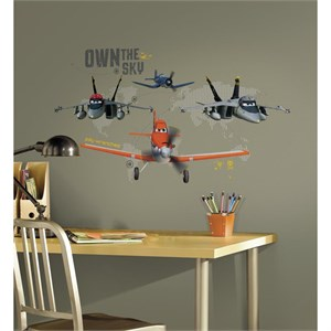 Planes-Own The Sky Giant Decal