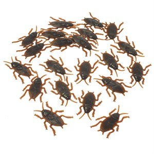 Plastic Cockroaches